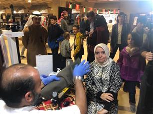 سفيرة تركيا زارت جناح جمعية صندوق إعانة المرضى بالقرية التراثية