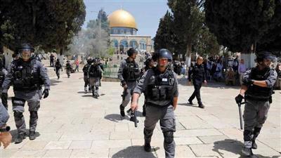 استشهاد فلسطيني برصاص قوات الاحتلال في محيط المسجد الأقصى