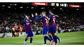 «برشلونة» يكتسح «إيبار» بخماسية نظيفة