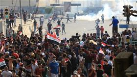 مقتل متظاهر وإصابة 7 آخرين في إطلاق نار ببغداد