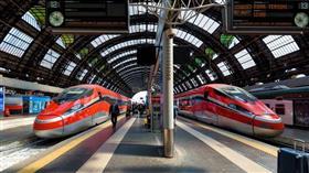 القطارات في إيطاليا