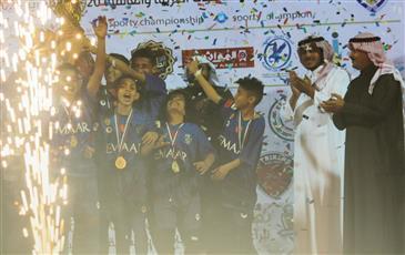 الهلال السعودي يفوز بلقب «سبورتي» العالمية الرابعة