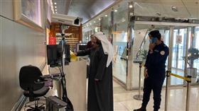 وزير الصحة تفقد التجهيزات الصحية بالمطار
