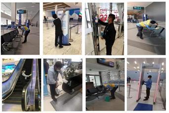 «الطيران المدني»: الغسيل والتعقيم مستمران لمرافق ومباني مطار الكويت