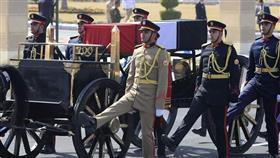 جنازة عسكرية لمبارك