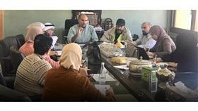 د. فهد الغملاس يعقد اجتماعاً لمتابعة العمل لإدارة المحاجر الطبية المجهزة حديثاً