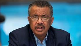مدير عام منظمة الصحة العالمية تيدروس أدهانوم جيبريسوس