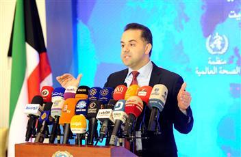 الناطق الرسمي باسم وزارة الصحة الدكتور عبدالله السند