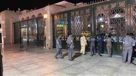 إغلاق أبواب المسجد النبوي بسبب كورونا بأمر من رئاسة الحرمين