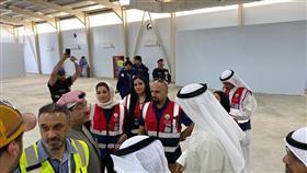 وكيل «الصحة» يتفقد جهوزية المراكز الميدانية المخصصة لفحص المواطنين بالمطار
