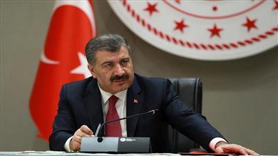 وزير الصحة التركي فخر الدين قوجة
