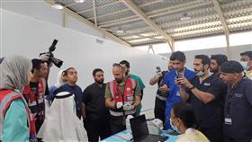 مركز فحص القادمين بمطار الـT4.. يستعد لاستقبال العائدين من الخارج