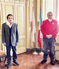 الصليب الأحمر الإيطالي يثمن تضامن الكويت وجهودها إزاء مكافحة كورونا