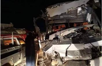 مصر.. حادث سير «مروّع» يودي بحياة 18 شخصا