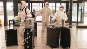 فريق طبي صيني إلى مطار هيثرو في العاصمة لندن