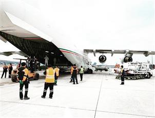 سفيرنا بالصين: مغادرة طائرة عسكرية كويتية محملة بمستلزمات طبية صينية