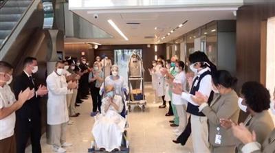 برازيلية تبلغ 97 عاماً تنجو من الموت بفيروس كورونا