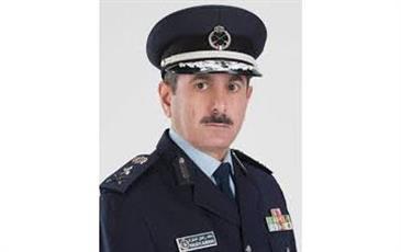مدير عام الإدارة العامة للإطفاء الفريق خالد المكراد