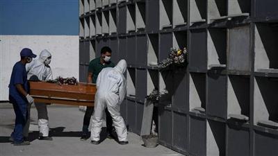 البرازيل تتخطى عتبة 20 ألف حالة وفاة بكورونا