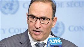 مندوب دولة الكويت الدائم لدى الامم المتحدة السفير منصور العتيبي