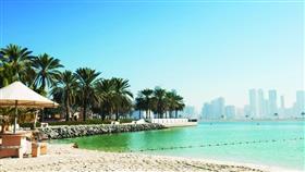 أحد شواطئ دبي