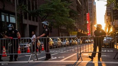 حظر تجول في نيويورك
