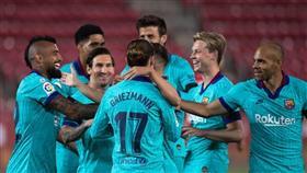 بعد توقف كورونا.. برشلونة يعود بقوة ويضرب ريال مايوركا برباعية