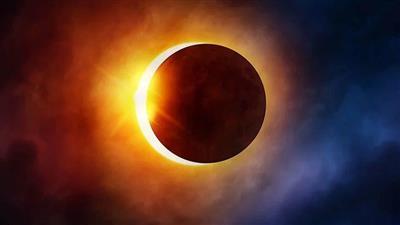 كسوف حلقي للشمس بمناطق مختلفة من العالم.. يُشاهد جزئيًا بالكويت