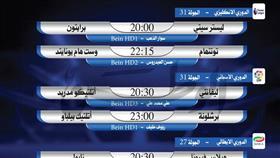 أبرز المباريات العالمية ليوم الثلاثاء 23 يونيو 2020