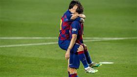 راكيتيتش يحافظ على آمال برشلونة في المنافسة على صدارة الليغا