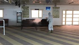 البلدية: تعقيم منشآت المقابر.. بالتعاون مع وزارة الدفاع