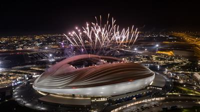 (ملعب الجنوب) احد ملاعب بطولة كأس العالم (قطر 2022)