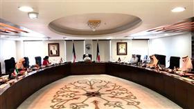 مريم العقيل خلال الاجتماع الطارئ لمجلس وزراء الشؤون العرب عبر تقنية الاتصال المرئي