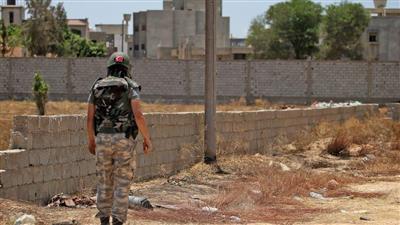 أحد الجنود الأتراك في طرابلس