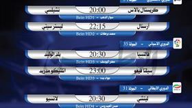 أبرز المباريات العالمية ليوم الثلاثاء 7 يوليو 2020