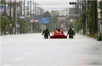 اليابان تحذر من هطول أمطار غزيرة مجدداً على مناطق متضررة من الفيضان