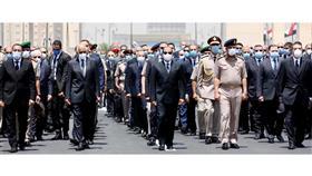 مصر تودع العصار.. بجنازة عسكرية