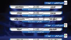 أبرز المباريات العالمية ليوم الخميس 9 يوليو 2020