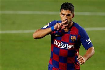 سواريز ينقذ برشلونة من كمين إسبانيول