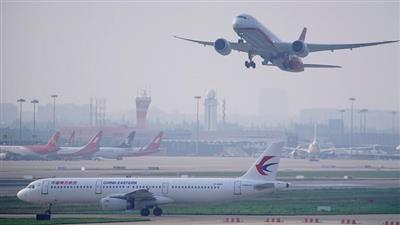 قطاع الطيران الصيني يخسر 4.9 مليار دولار في 3 أشهر