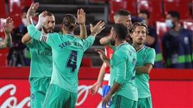 الريال على بعد خطوة من انتزاع لقب الدوري الإسباني