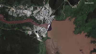 منسوب النيل ينخفض.. وتضارب إثيوبي في ملء السد