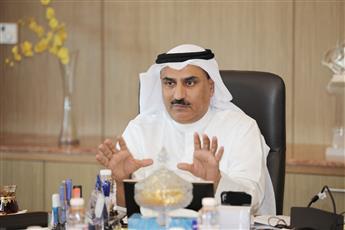 وزير التربية الدكتور سعود الحربي خلال الاجتماع
