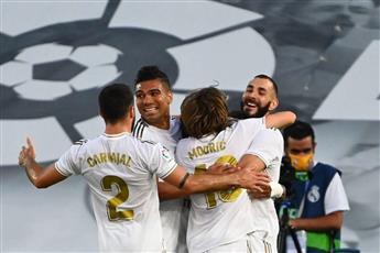ريال مدريد يتوج رسمياً بطلاً للدوري الأسباني للمرة الـ 34 في تاريخه