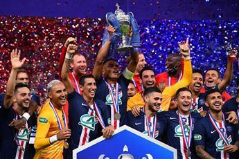 باريس سان جيرمان بطلا لكأس فرنسا للمرة 13 في تاريخه