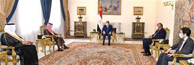 مصر والسعودية: تنسيق مستمر لمواجهة التحديات وتحقيق أمن واستقرار المنطقة