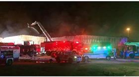 الإطفاء: السيطرة على حريق هائل بمنطقة الصليبية الزراعية