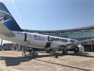 مصر للطيران تتسلم الطائرة الثامنة والأخيرة من طراز إيرباص A320Neo