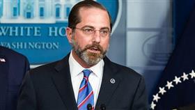 وزير الصحة والخدمات البشرية الأمريكية اليكس ازار
