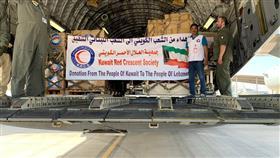 الهلال الأحمر تسير طائرة مساعدات طبية وإغاثية للشعب اللبناني الشقيق